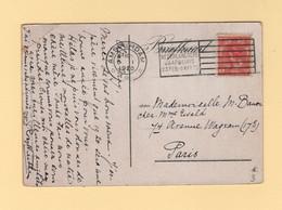 Pays Bas - Amsterdam - 1920 - Bezoekt De 4 Nederlandsche Jaarbeurs - Destination France - Poststempel