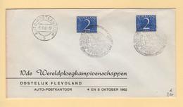 Pays Bas - Auto Postkantoor - 1962 - Poststempel