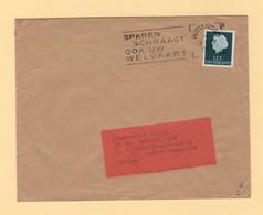 Pays Bas - Rotterdam - Envoi Non Clos Destination France - 1967 - Poststempel