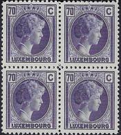 Luxembourg - Luxemburg - Timbres 1935 Charlotte  70C.. Michel 281  MNH** - Blokken & Velletjes