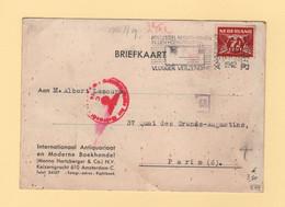 Pays Bas - Amsterdam - 1942 - Destination France - Censure Allemande - Poststempel