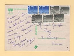 Pays Bas - Rotterdam - 1981 - Carte Destination France - Poststempel