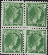 Luxembourg - Luxemburg - Timbres 1930 Charlotte  35C.. Michel 223  MNH** - Gebruikt