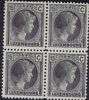 Luxembourg - Luxemburg - Timbres 1930 Charlotte  15C.. Michel 221  MNH** - Blokken & Velletjes