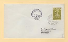 Pays Bas - Amsterdam Buccarest - 1966 - Europa - Poststempel