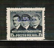 PL 1950 MI 666 GROSZE MNH - Unused Stamps