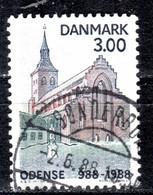 DK+ Dänemark 1988 Mi 917 Odense - Usado