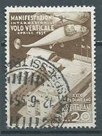 Italie YT N°595 Foire De Milan 1951 Oblitéré ° - 1946-60: Gebraucht