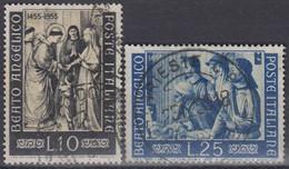 ITALY 953-954,used - 1946-60: Gebraucht
