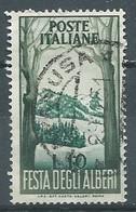 Italie YT N°618 Fête Des Arbres Oblitéré ° - 1946-60: Gebraucht
