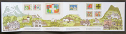 Suisse - Switzerland - Schweiz - Carnet 700e Anniversaire Constitution - Yvert 1353-1354, 1367, 1368-1371 Et 1374-1377 - Markenheftchen