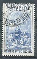 Italie YT N°625 Léonard De Vinci Oblitéré ° - 1946-60: Gebraucht