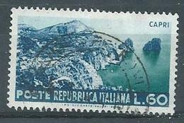 Italie YT N°669 Capri Oblitéré ° - 1946-60: Gebraucht