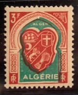 "ALGERIE 1947 - YT261** - Armoirie D'Alger - Variété ""Couleur Décalée"" - Neufs"