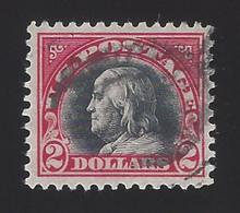 US #547 1920 Carmine & Black Unwmk Perf 11 Used VF Scv $40 - Gebraucht