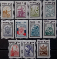 Russia, 1999, Mi. 764A-74A, Sc. 6550-60, The Third Issue Of Standard Postage Stamps Of The Russian Federation, MNH - Ungebraucht