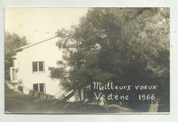 MEILLEURS VOEUX VEDENE 1966, FOTOGRAFICA   FP - Other Municipalities