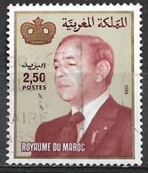 Morocco 1987. Scott #569 (U) King Hassan II - Maroc (1956-...)