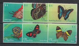 Nevis - 2000 - N°Yv. 1438 à 1443 - Papillon / Butterfly - Neuf Luxe ** / MNH / Postfrisch - Papillons