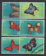 Nevis - 2000 - N°Yv. 1482A à 1482F - Papillon / Butterfly - Neuf Luxe ** / MNH / Postfrisch - Papillons