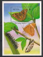 Nevis - 1993 - Bloc Feuillet BF N°Yv. 69 - Papillon / Butterfly - Neuf Luxe ** / MNH / Postfrisch - Papillons