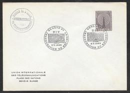 Switzerland / United Nations Geneva - 1962 ITU / UIT Headquarters Building Inauguration Cover - Autres