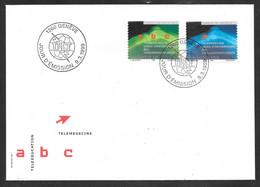 Switzerland / United Nations Geneva - 1999 ITU / UIT Teleeducation / Telemedicine FDC - Autres