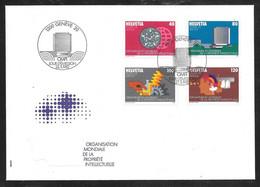 Switzerland / United Nations Geneva - 1982 WIPO / OMPI Definitives 4v FDC - Autres