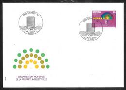 Switzerland / United Nations Geneva - 1985 WIPO / OMPI 50c Definitive FDC - Autres