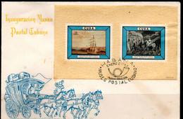 59115 CUBA 1965 Postal Museum SS FDC...Edif 1164...10eu - FDC
