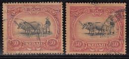 30c Kedah Used 1921, Shade Variety, Malaya / Malaysia - Kedah