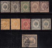 Kedah Used 1922, Few Shade Varities, Malaya / Malaysia - Kedah