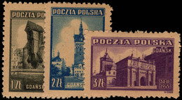 Poland 1945 Liberation Of Gdansk Unmounted Mint. - Unused Stamps