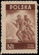 Poland 1946 Peace 1st Anniversary Unmounted Mint. - Unused Stamps