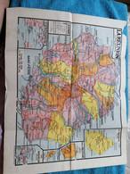 Réunion: Document  Très Rare De 1933 Par Paul HERMANN Avec Carte De L'Ile. - Carte Geographique