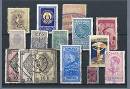 Romania - Old Lot - Revenue Stamps- Timbres Fiscaux - Stempelmarken - Revenue Stamps