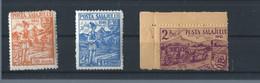 Romania 1945 Transylvania Local Post Posta Salajului Hungary Zilah II - Local Post Stamps