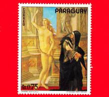 PARAGUAY - Nuovo - 1973 - Dipinti Dai Musei Di Firenze - Sandro Botticelli - 0.75 - Paraguay