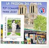 France BF 17 FFAP Congrès De Paris 2020 Neuf ** LUXE MNH Sin Charnela - FFAP