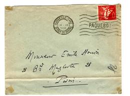 44307 - MARSEILLE APQUEBOT - Lettres & Documents
