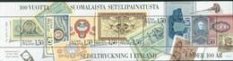 Finland 1985 - 100 Jahre Finische Banknotendruckerei, H-Blatt Von MH, MNH** - Nuevos