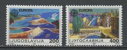 Yougoslavie - Jugoslawien - Yugoslavia 1987 Y&T N°2098 à 2099 - Michel N°2219 à 2220 *** - EUROPA - Ungebraucht