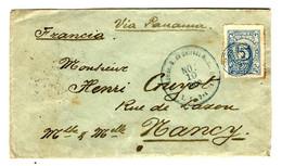 44319 - Pour La France Via PANAMA - Colombia