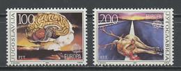 Yougoslavie - Jugoslawien - Yugoslavia 1986 Y&T N°2033 à 2034 - Michel N°2156 à 2157 *** - EUROPA - Ungebraucht