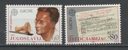 Yougoslavie - Jugoslawien - Yugoslavia 1985 Y&T N°1983 à 1984 - Michel N°2104 à 2105 *** - EUROPA - Ungebraucht