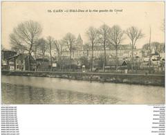 14 CAEN. Top Promotion Hôtel Dieu Et Rive Gauche Du Canal 1923 - Caen