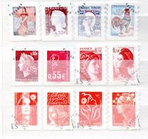 R2-1 France Oblitéré N° 4287 à 4298 à 10 % De La Côte !!! - Used Stamps