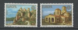 Yougoslavie - Jugoslawien - Yugoslavia 1978 Y&T N°1607 à 1608 - Michel N°1725 à 1726 *** - EUROPA - Ungebraucht