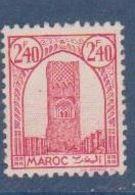 MAROC       N°  YVERT   215   NEUF AVEC CHARNIERES      ( CHAR   03/52 ) - Ungebraucht