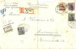 ENVELOPPE DE SARRE 1920 - Colecciones (sin álbumes)